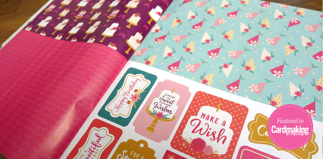 Mandy Porta Featured in Cardmaking & Papercraft Magazine