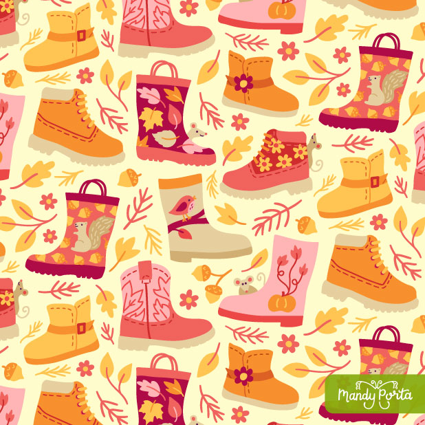 Fall Farm Collection by Mandy Porta
