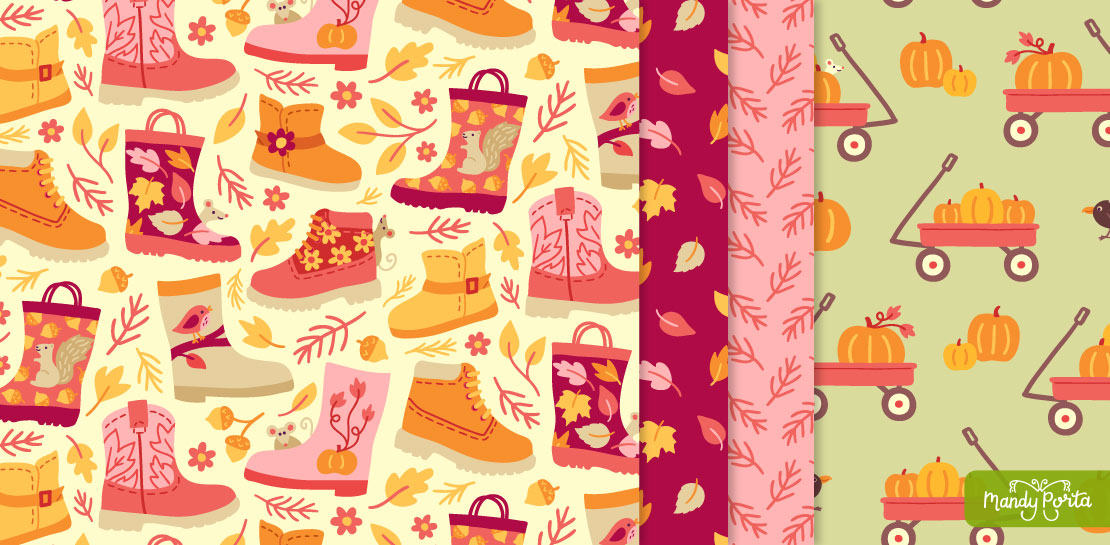 Pumpkin Patch Pattern Collection