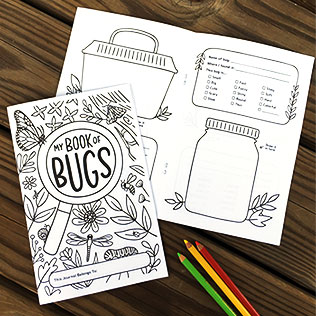 Bug Journal Printable Activity Book