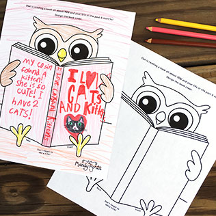 Design a Book Cover for Owl