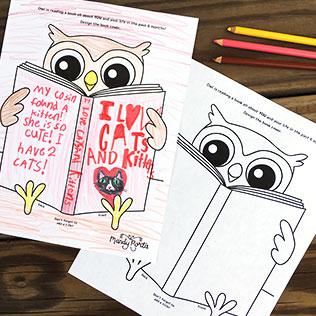 Design a Book Cover for Owl