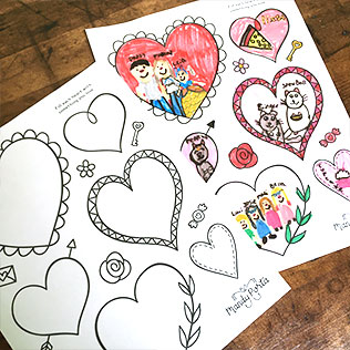 Valentine's Day Printable Activity